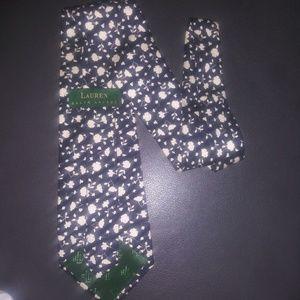 Lauren Ralph Lauren Flower Tie